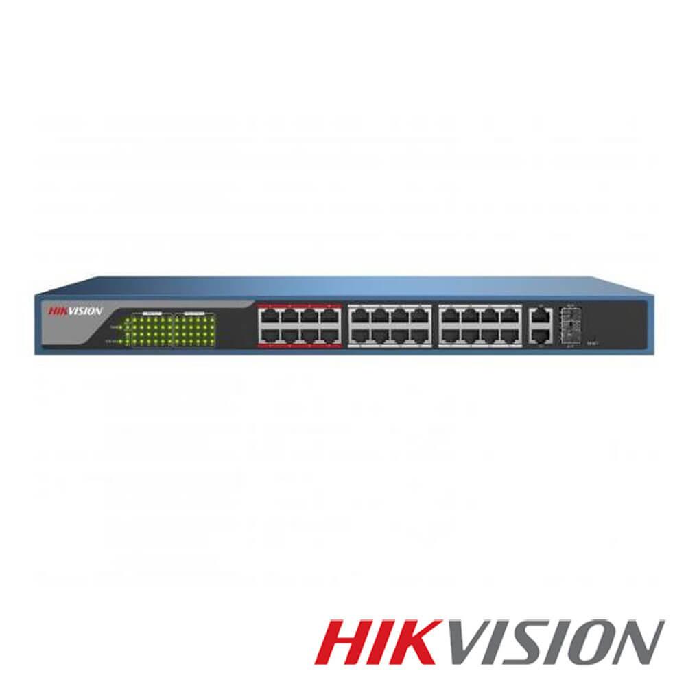 Cel mai bun pret pentru Switch-uri si injectoare HIKVISION DS-3E1326P-E Special pentru interconectarea diferitelor segmente de rețea