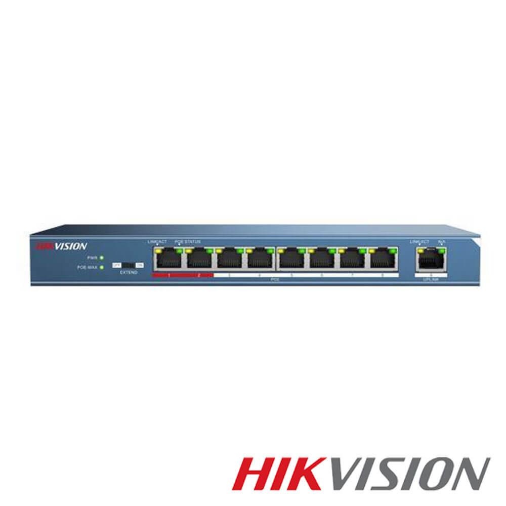 Cel mai bun pret pentru Switch-uri si injectoare HIKVISION DS-3E0109P-E/M Special pentru interconectarea diferitelor segmente de rețea