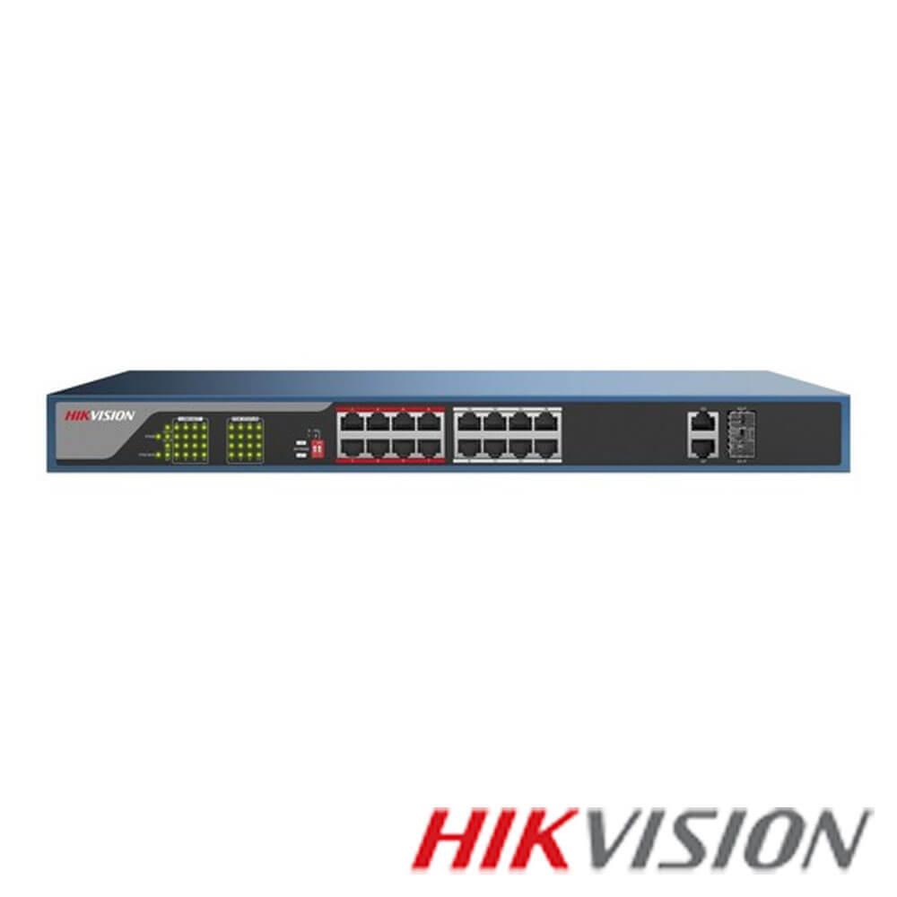Cel mai bun pret pentru Switch-uri si injectoare HIKVISION DS-3E0318P-E Special pentru interconectarea diferitelor segmente de rețea