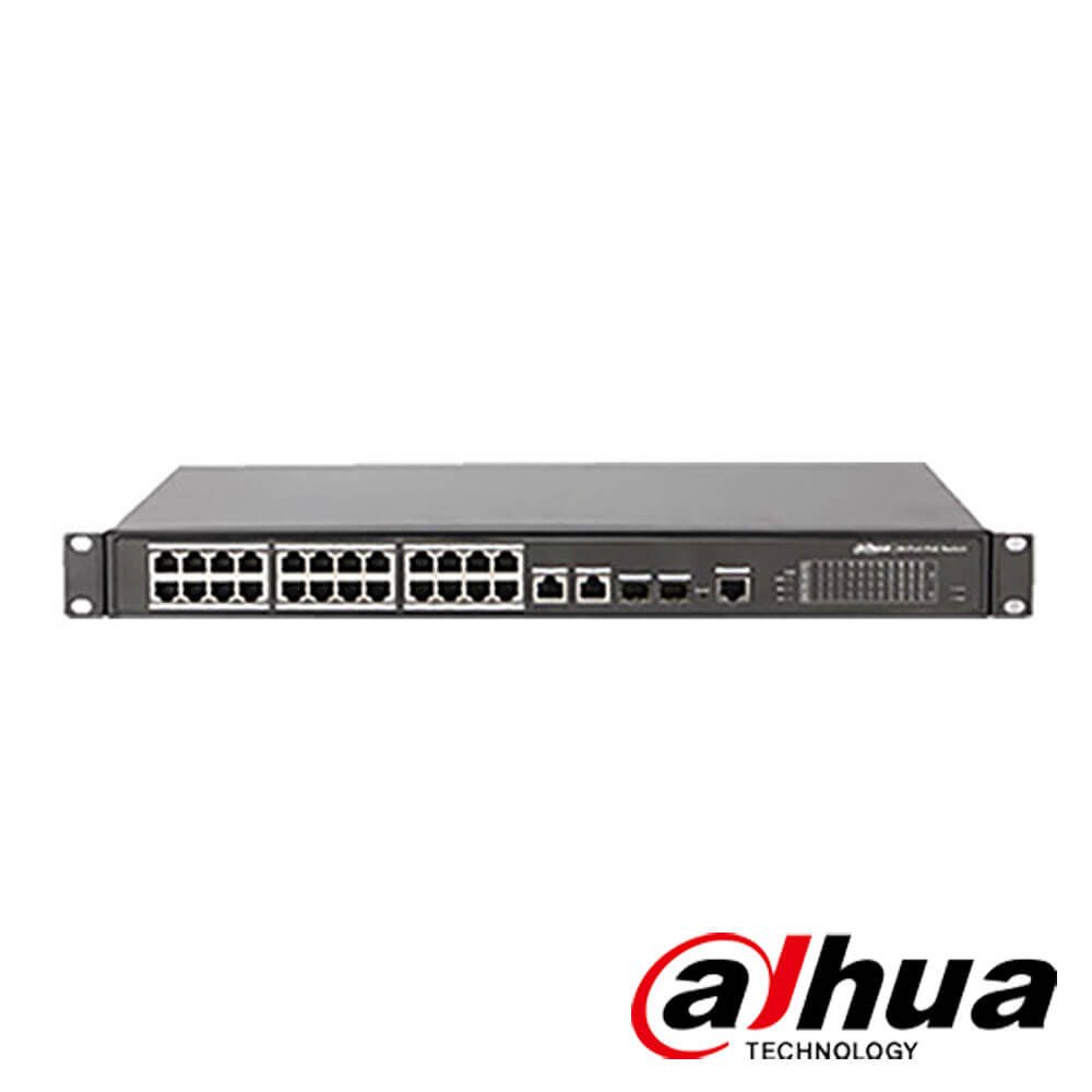 Cel mai bun pret pentru Switch-uri si injectoare DAHUA PFS4218-16ET-240 Special pentru interconectarea diferitelor segmente de rețea