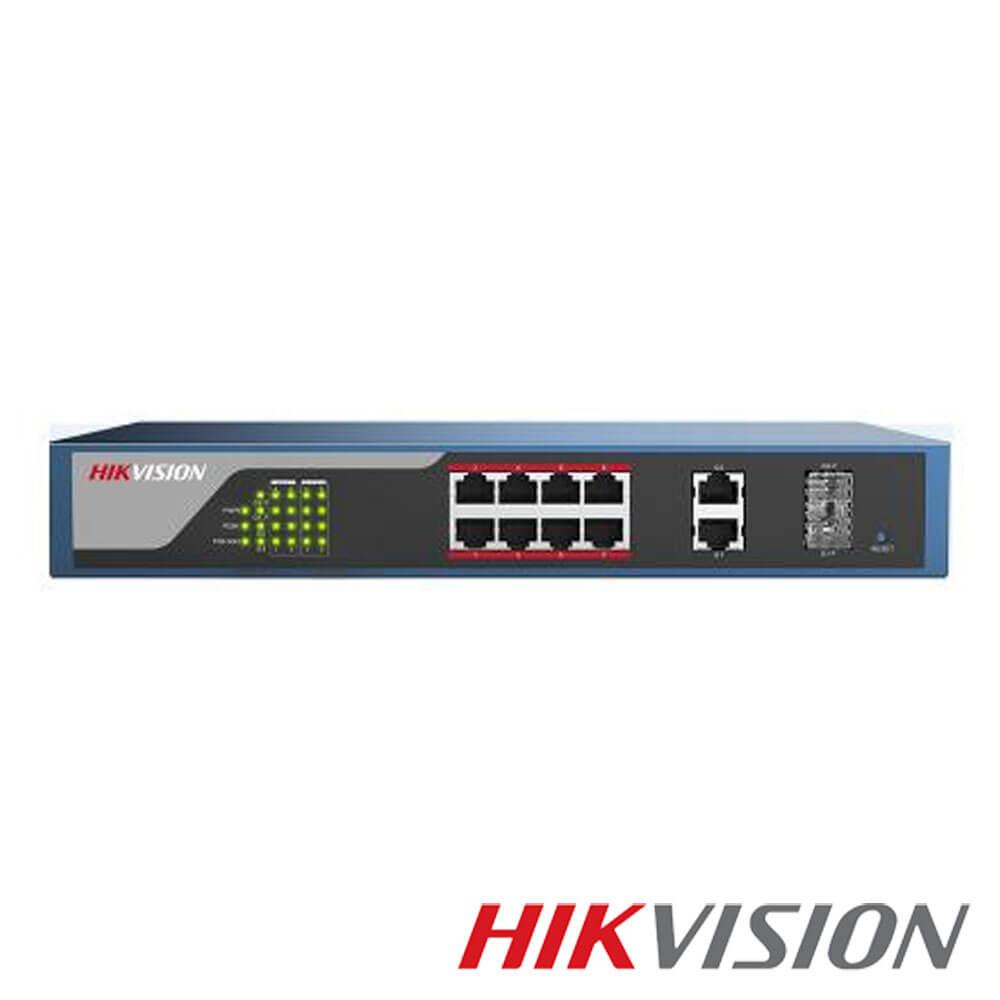 Cel mai bun pret pentru Switch-uri si injectoare HIKVISION DS-3E1310P-E Special pentru interconectarea diferitelor segmente de rețea