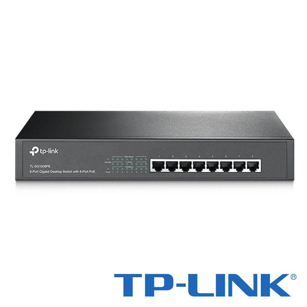 Cel mai bun pret pentru Switch-uri si injectoare TP-LINK TL-SG1008PE Special pentru interconectarea diferitelor segmente de rețea