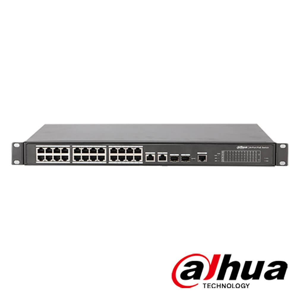 Cel mai bun pret pentru Switch-uri si injectoare DAHUA PFS4226-24ET-240 Special pentru interconectarea diferitelor segmente de rețea