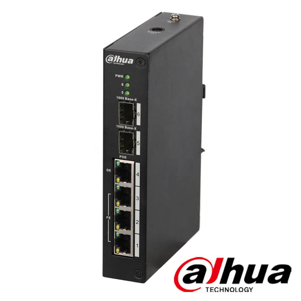Cel mai bun pret pentru Switch-uri si injectoare DAHUA PFS3206-4P-96 Special pentru interconectarea diferitelor segmente de rețea
