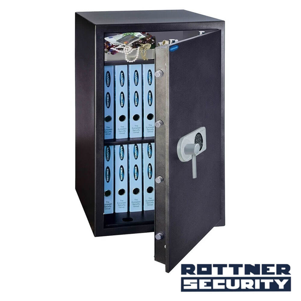 Cel mai bun pret pentru Seif-uri ROTTNER T04687 Seif antiefracţie TOSCANA 85 cu închidere electronică