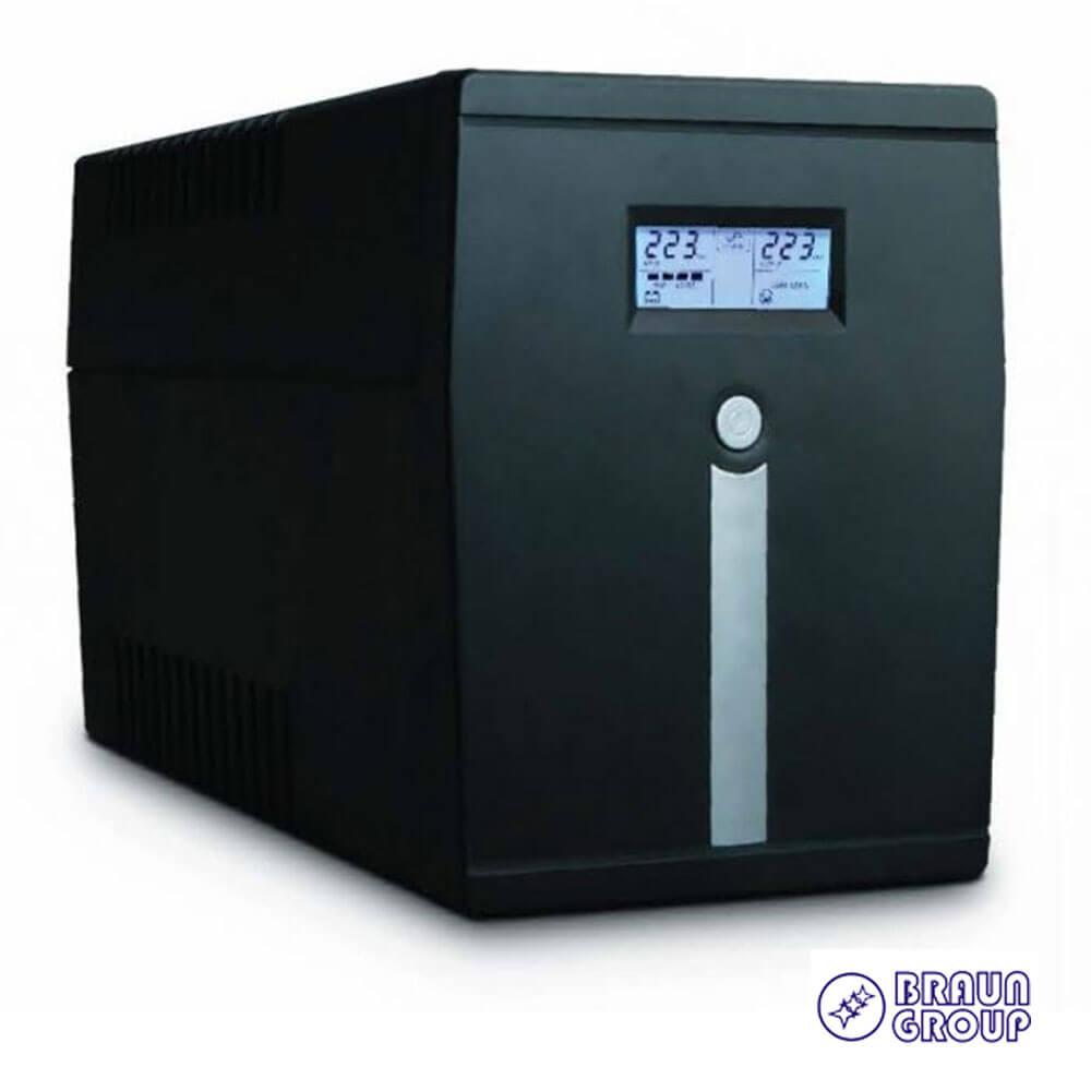 Cel mai bun pret pentru UPS-uri BRAUN GROUP MICRO 1000LCD Voltage Range: 81-145 VAC / 162-290 VAC