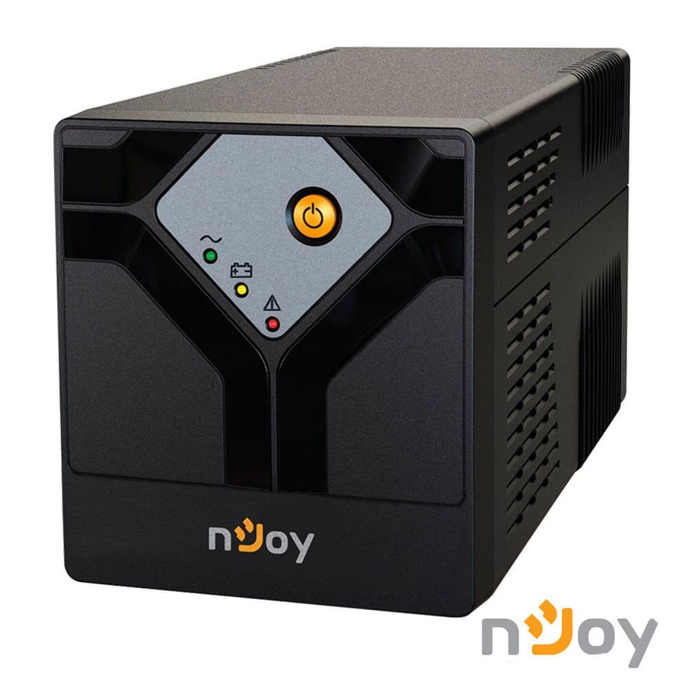 Cel mai bun pret pentru UPS-uri NJOY SEPTU 1000 Septu 1000 Line Interactive UPS 1000VA, 600W, AVR, Protecție priză RJ11