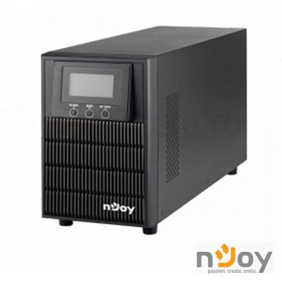 Cel mai bun pret pentru UPS-uri NJOY ATEN 2000L UPS Online Dublă Conversie 2000VA, 1600W, Tower, Ieșire Sinusoidală Pură