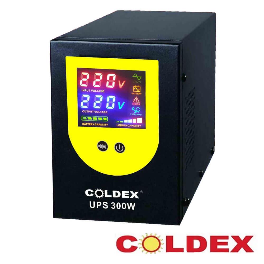 Cel mai bun pret pentru UPS-uri COLDEX CD-300W-12V Forma de unda: pseudosinusoidala