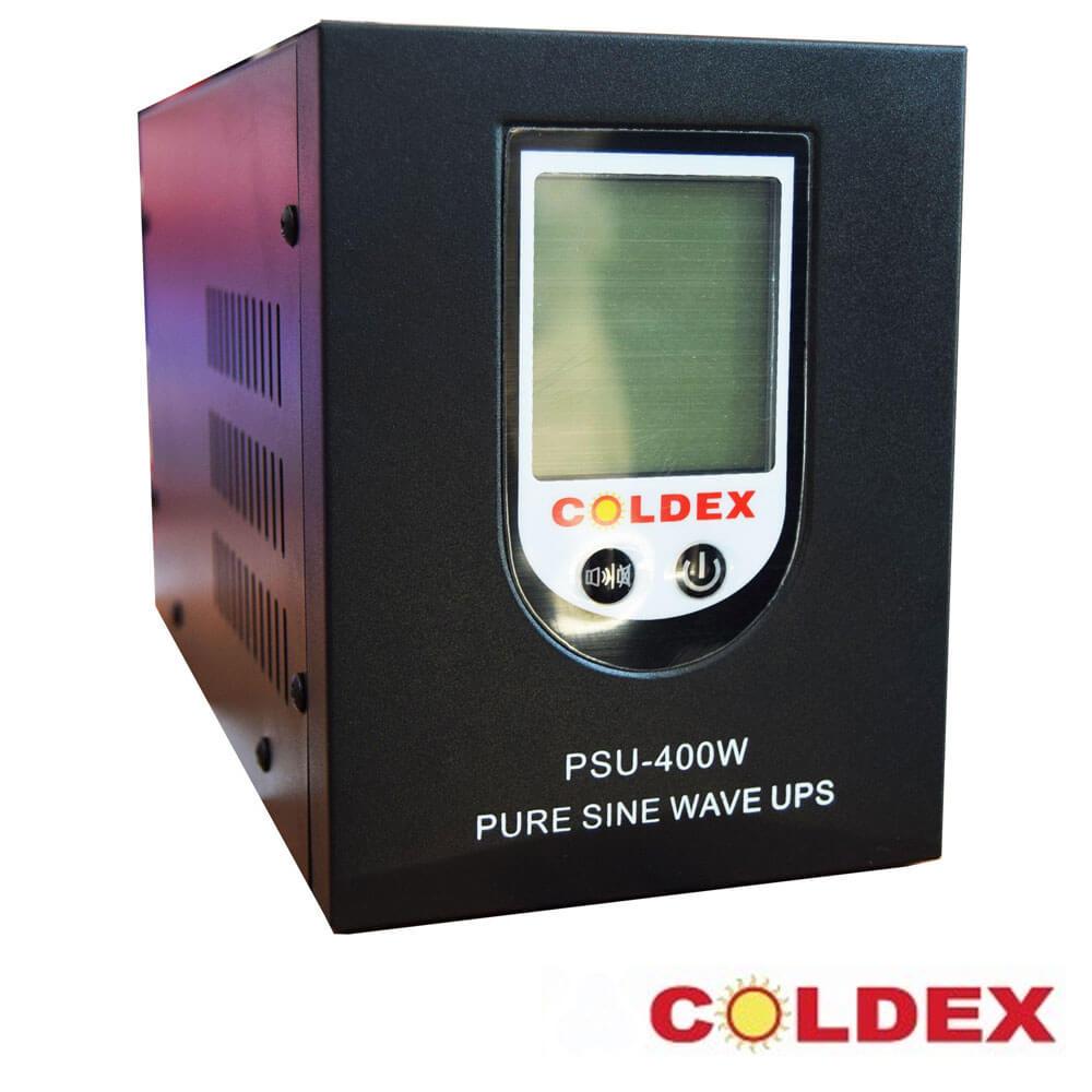 Cel mai bun pret pentru UPS-uri COLDEX CD-400W-12V  Forma de unda: pur sinusoidala