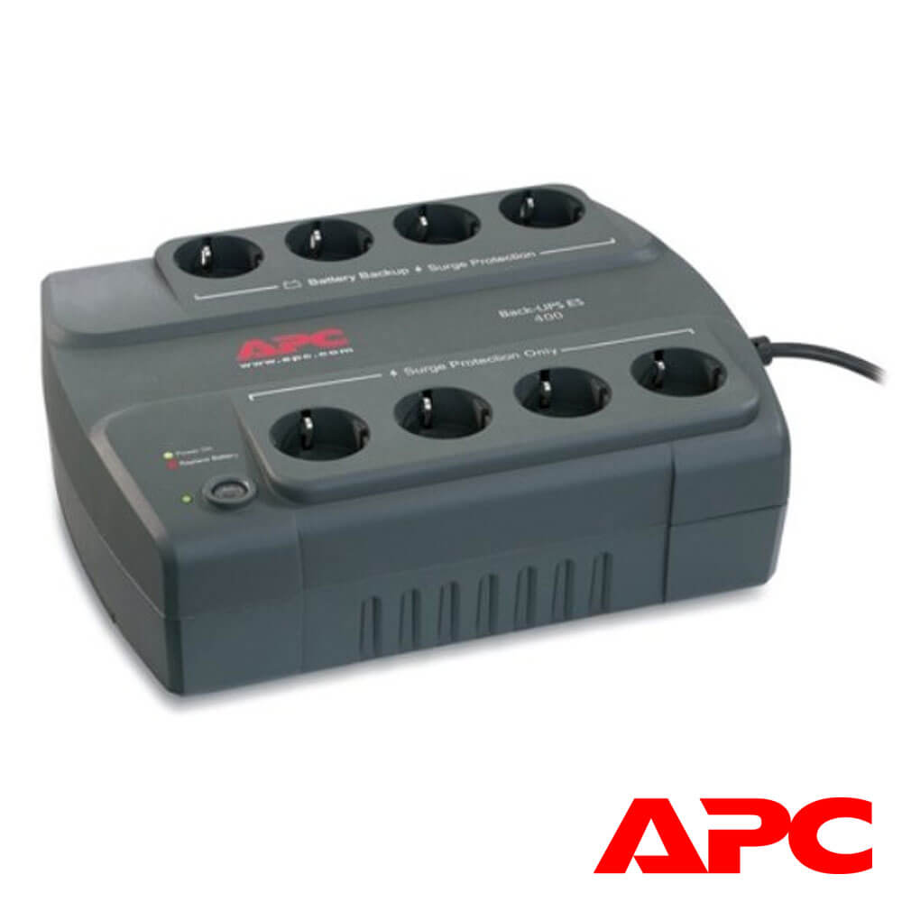 Cel mai bun pret pentru UPS-uri APC BE400-GR UPS APC Back-UPS ES stand-by 400VA , 240W