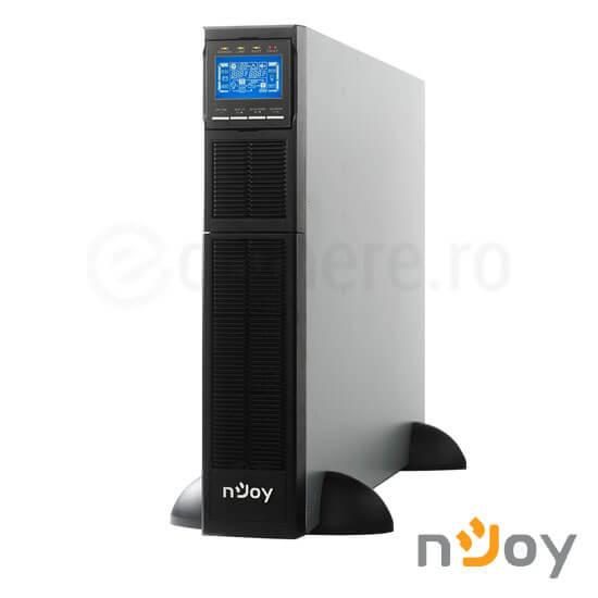 Cel mai bun pret pentru UPS-uri NJOY BALDER 10000 UPS Online Dublă Conversie 10000 VA, 10000 W, Rack/Tower, Ieșire Sinusoidală Pură