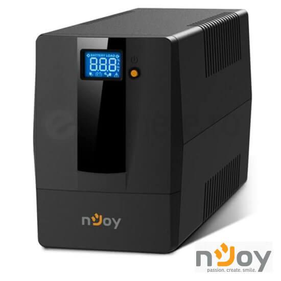 Cel mai bun pret pentru UPS-uri NJOY HORUS PLUS 800 Horus Plus 800 Line Interactive UPS 800VA, 480W, AVR, Protecție priză RJ11