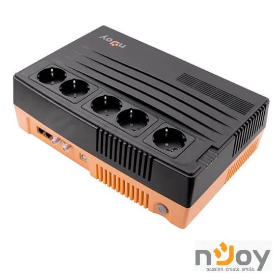 Cel mai bun pret pentru UPS-uri NJOY SHED 625 Shed 625 Line Interactive UPS 625VA, 375W, AVR, Protecție RJ45/ RJ11 & Protecție priză coaxială