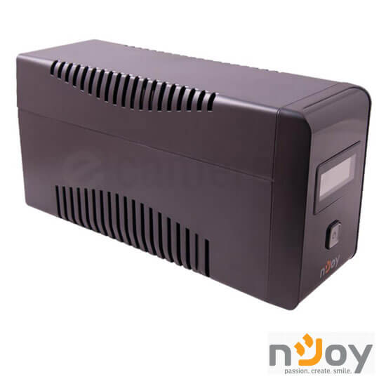 Cel mai bun pret pentru UPS-uri NJOY ISIS 1000L Isis 1000L Line Interactive UPS 1000VA, 600W, AVR, Protecție RJ45/RJ11