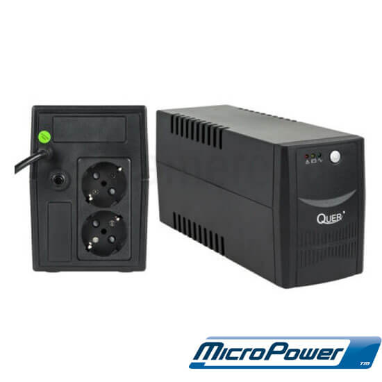 Cel mai bun pret pentru UPS-uri QUER KOM0552 Putere: 800 VA/480 W