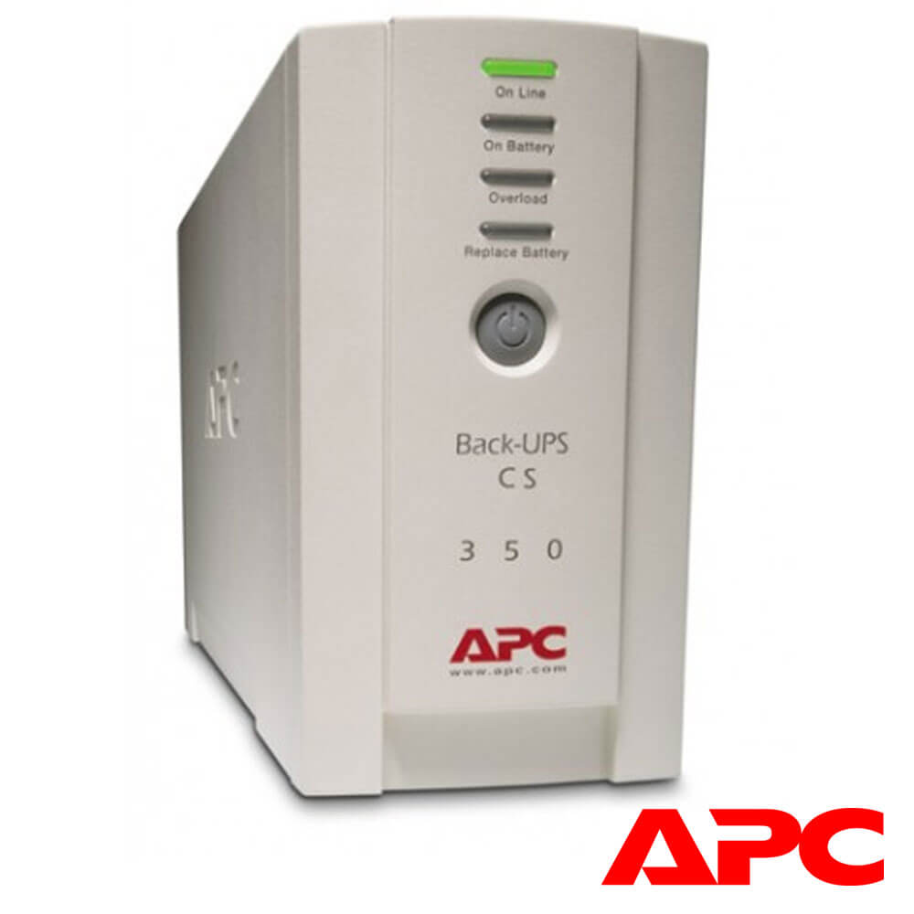Cel mai bun pret pentru UPS-uri APC BK350EI UPS APC Back-UPS CS stand-by 350VA , 210W