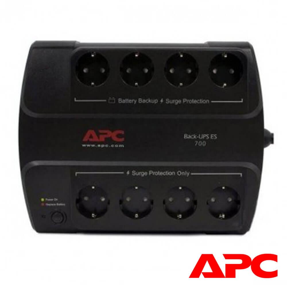 Cel mai bun pret pentru UPS-uri APC BE700G-GR UPS APC Back-UPS ES stand-by 700VA , 405W