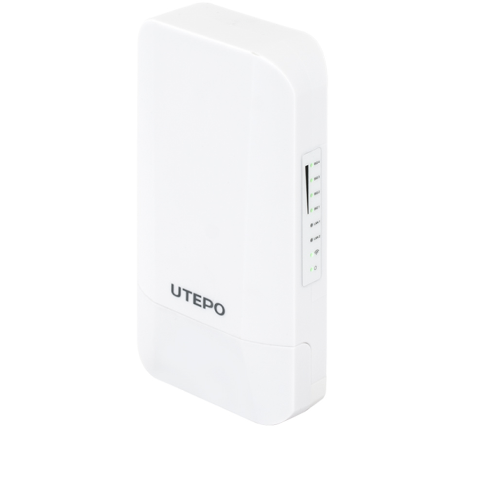 Cel mai bun pret pentru Transmitatoare wireless UTEPO CP2-300 2 interfete LAN 10/100Mbps, alimentare 12V dC sau PoE pasiv