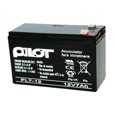 Cel mai bun pret pentru Acumulatori PILOT PL-7AH Capacitate: 7Ah