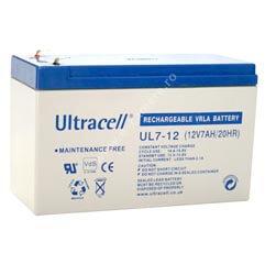 Cel mai bun pret pentru Acumulatori ULTRACELL UL7-12 Capacitate: 7Ah