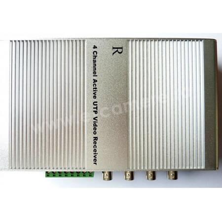 Cel mai bun pret pentru Video Balun SECPRAL VG-411R Receptor activ cu 4 canale cu mufa RJ45