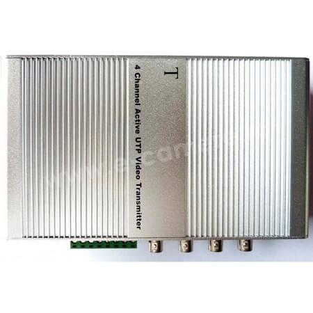 Cel mai bun pret pentru Video Balun SECPRAL VG-411T Transmitator activ de tip video balun pentru 4 canale