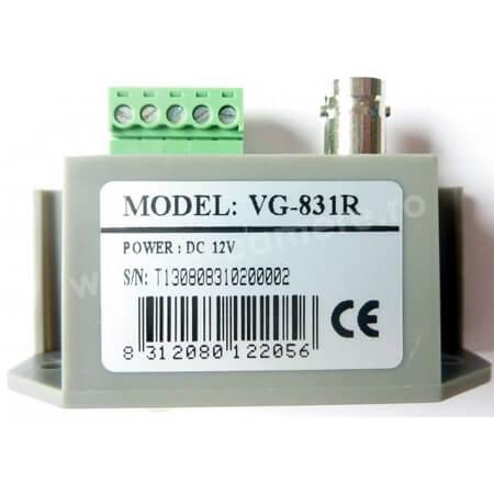 Cel mai bun pret pentru Video Balun SECPRAL VG-831R Receptor activ de tip video balun pentru camere analogice clasice