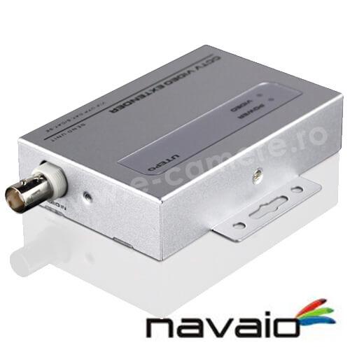 Cel mai bun pret pentru Video Balun NAVAIO NAV-A1002T Transmitator activ de tip video balun pentru camere analogice