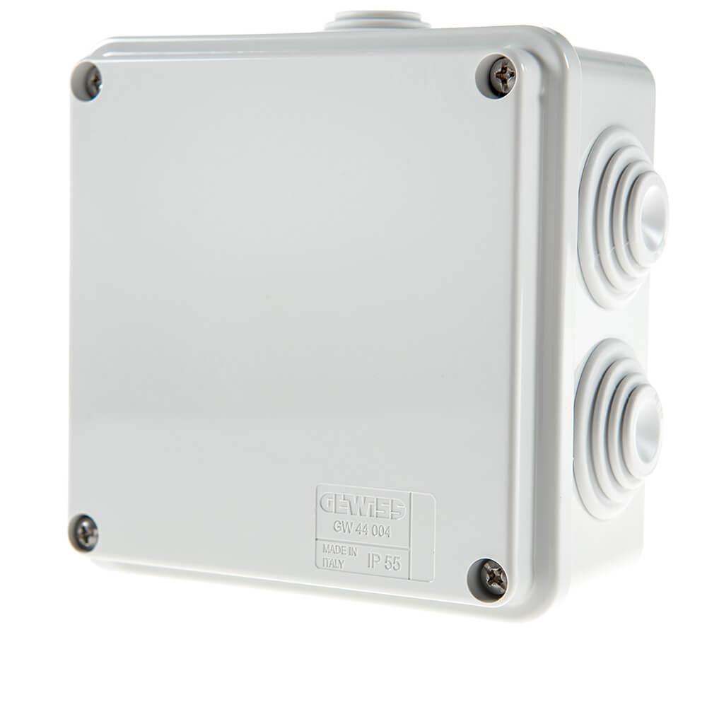 Cel mai bun pret pentru Doze jonctiuni PSS IP 55 GEWISS Dimensiuni:100 x 100 x 50 mm