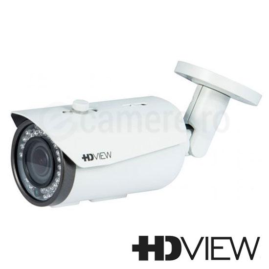 Camera Bullet 2MP, HDCVI, HDTVI, AHD, Exterior, IR 40m, Varifocala - HD-View AHB-0AVIR2