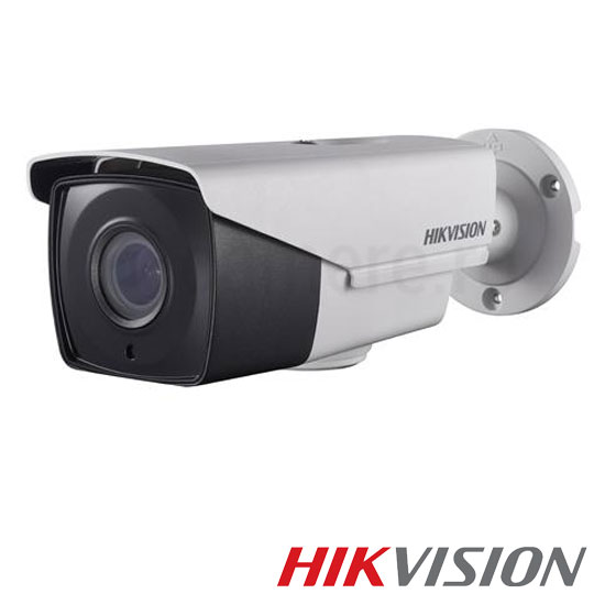 Camera  3MP Turbo HD Exterior , Zoom 4x, Varifocala, IR 40m - HikVision DS-2CE16F7T-AIT3Z
