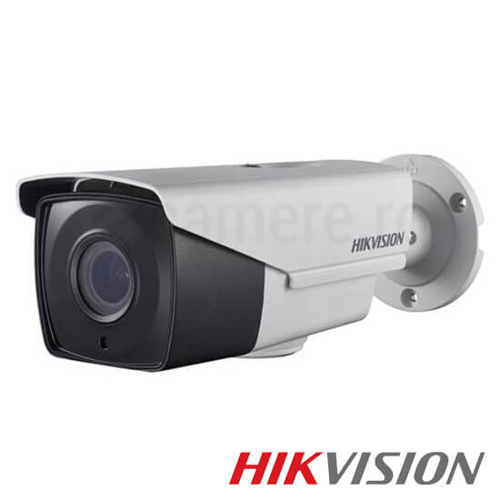 Camera 3MP Turbo HD Exterior, IR 40m, Zoom 4x - HikVision DS-2CE16F7T-IT3Z