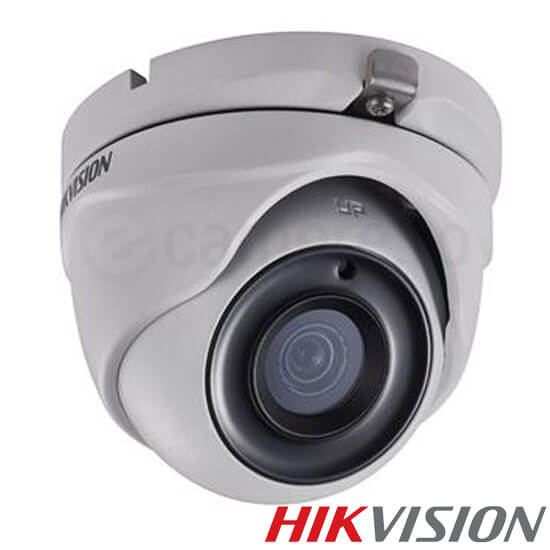 Camera 3MP Turbo HD Exterior, IR 20m, lentila 2.8 - HikVision DS-2CE56F1T-ITM