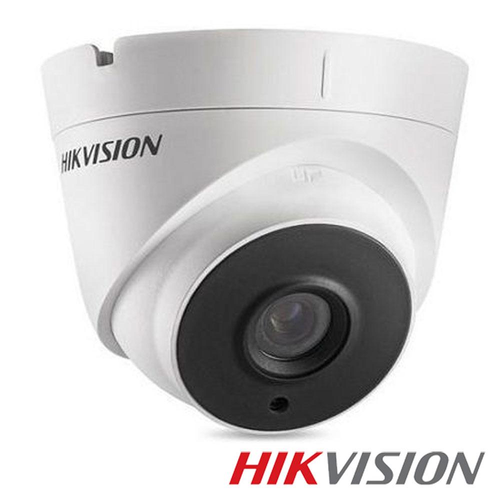Camera 2MP Exterior, IR 40m, POC, lentila 2.8 - HikVision DS-2CE56D0T-IT3E