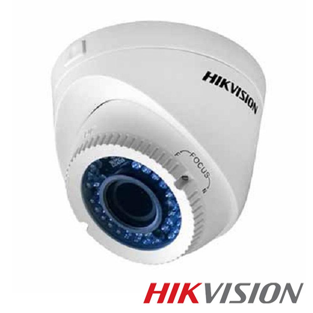 Camera 2MP Exterior, IR 40m, POC, varifocala - HikVision DS-2CE56D0T-VFIR3E