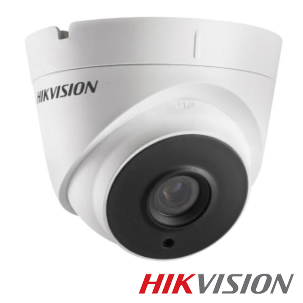 Camera 2MP Exterior, IR 20m, POC, lentila 2.8 - HikVision DS-2CE56D0T-IT1E