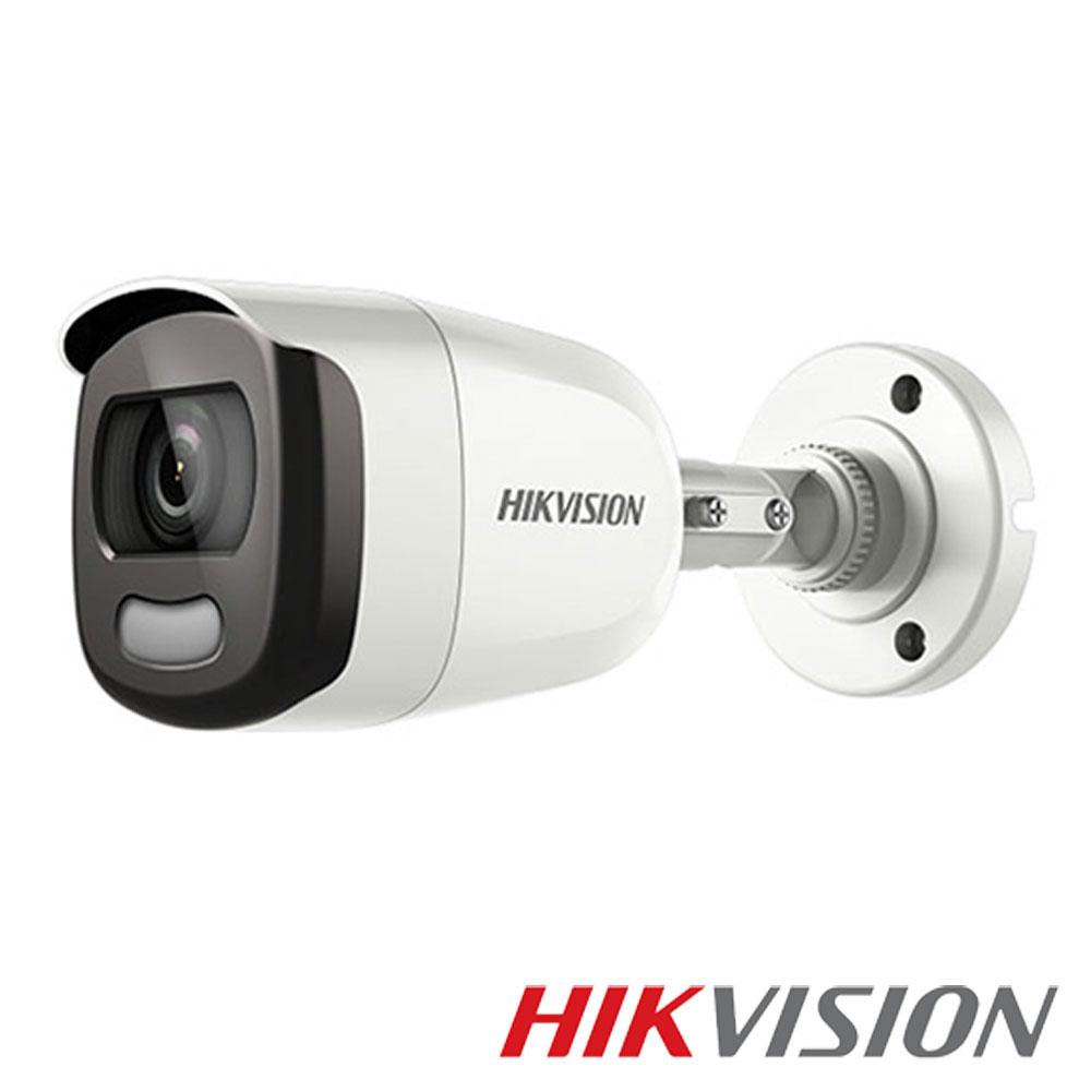 Camera 2MP Exterior, IR 40m, ColorVu, lentila 2.8mm - HikVision DS-2CE12DFT-F