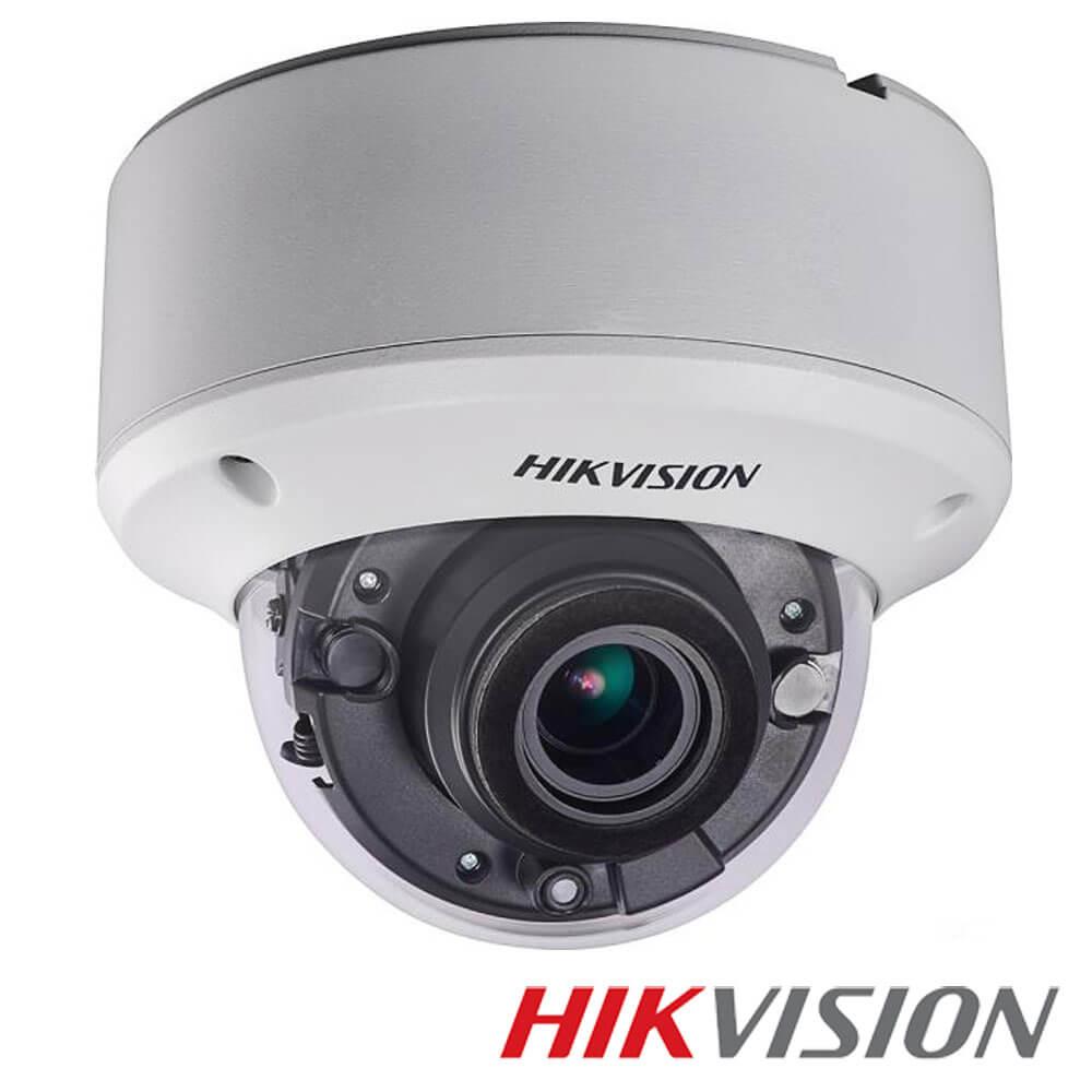 Camera 2MP Exterior, IR 60m, POC, Zoom 5x - HikVision DS-2CE56D8T-VPIT3ZE