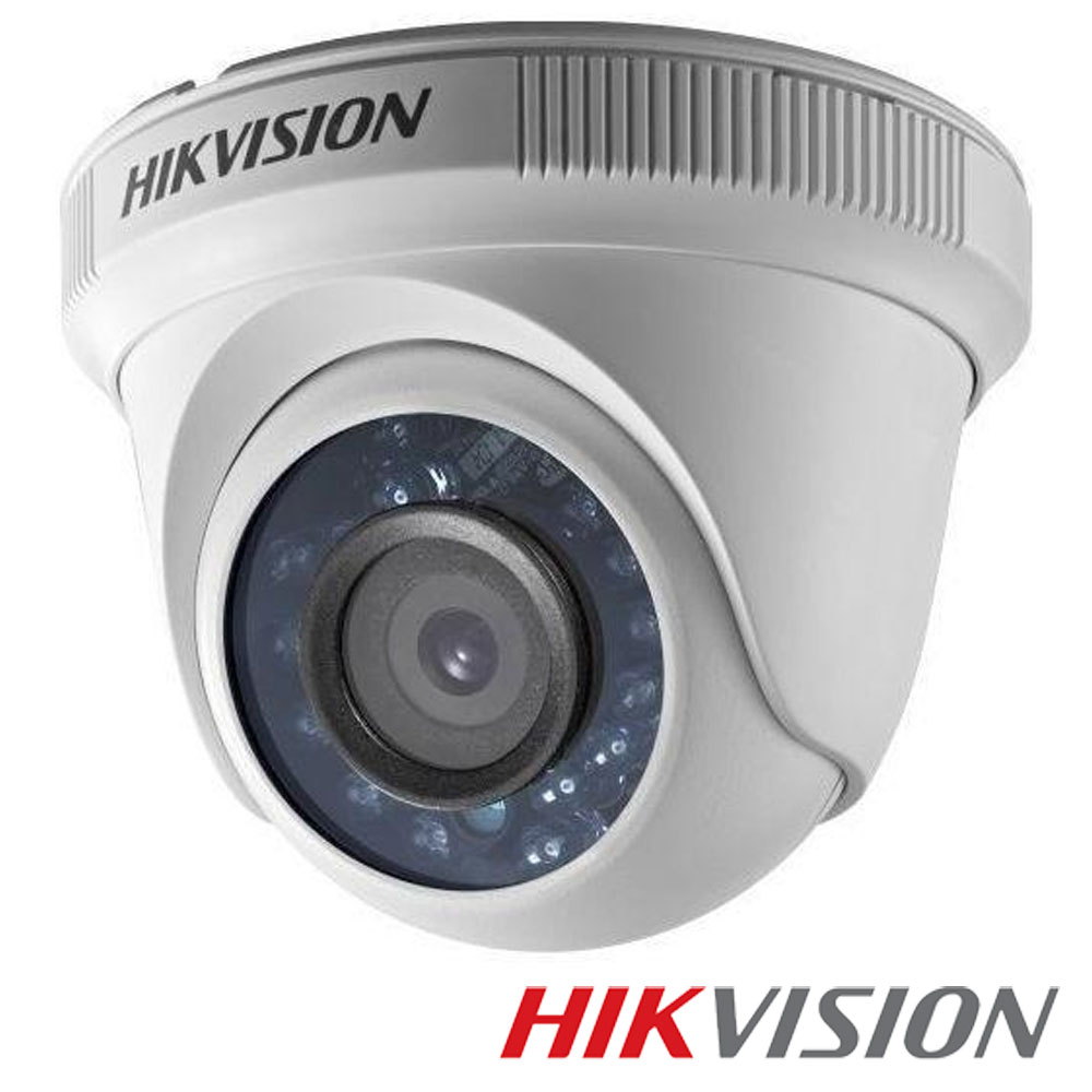 Camera 2MP Turbo HD Interior, IR 20m, lentila 3.6 - HikVision DS-2CE56D0T-IRP