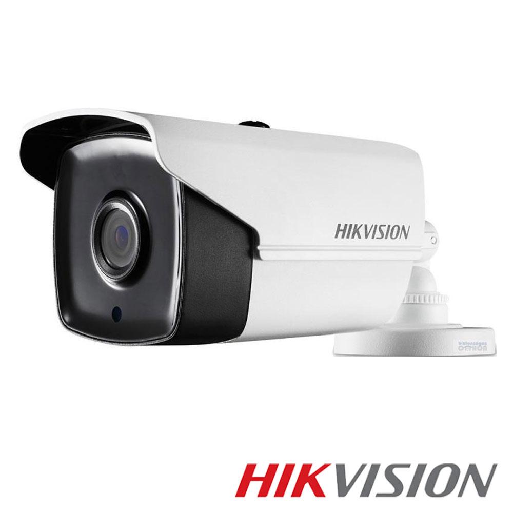 Camera 3MP Turbo HD Exterior, IR 80m, lentila 3.6- HikVision DS-2CE16F1T-IT5