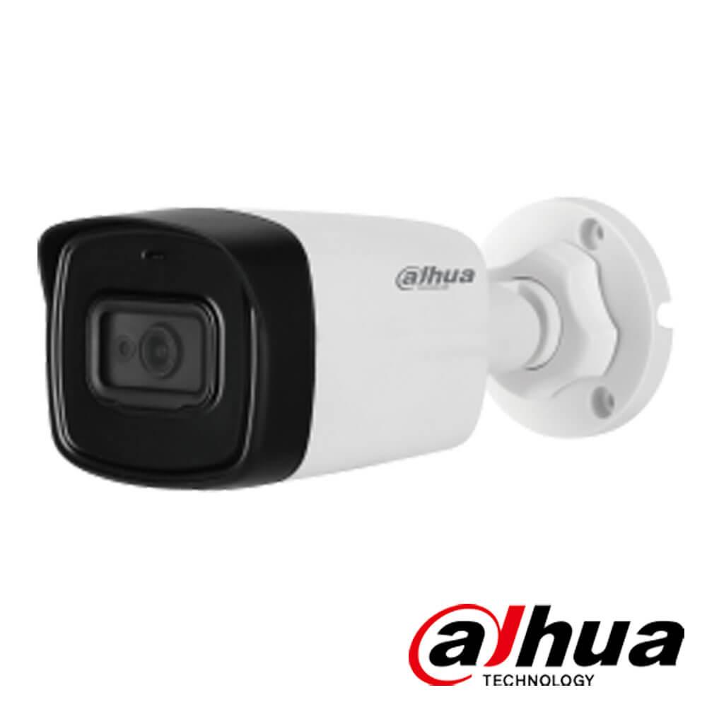 Camera 4MP Exterior, IR 80m, Microfon, lentila 3.6 - Dahua HAC-HFW1400TL-A