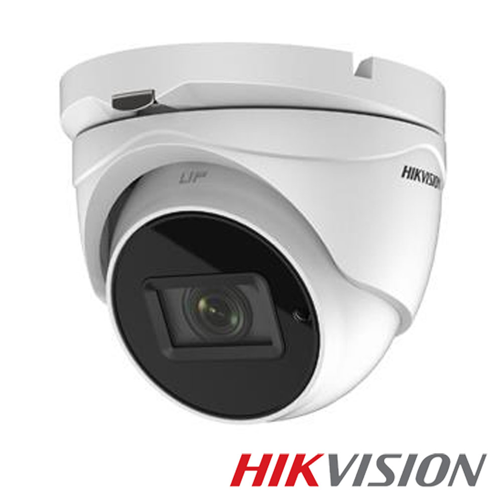 Camera 5MP Exterior, IR 40m, POC, Zoom 4x - HikVision DS-2CE56H5T-IT3ZE