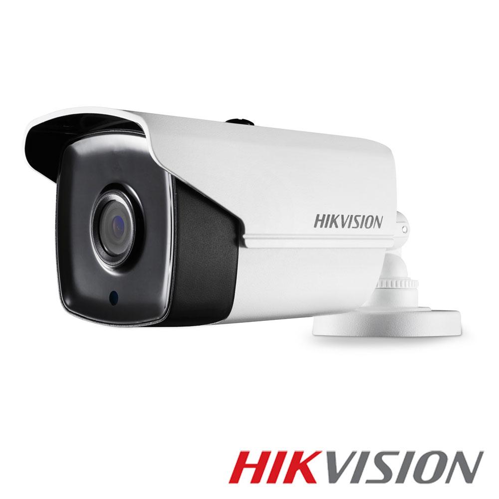 Camera 5MP Exterior, IR 40m, POC, lentila 3.6 - HikVision DS-2CE16H5T-IT3E