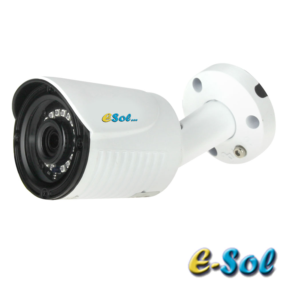 Camera 5MP Exterior, IR 20m, lentila 2.8 - e-Sol ES500/20A