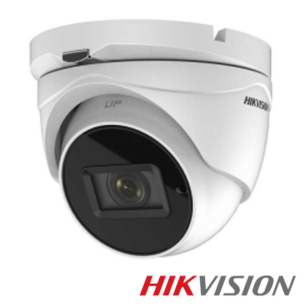 Camera 5MP Exterior, IR 60m, Zoom 5x - HikVision DS-2CE79H8T-IT3ZF