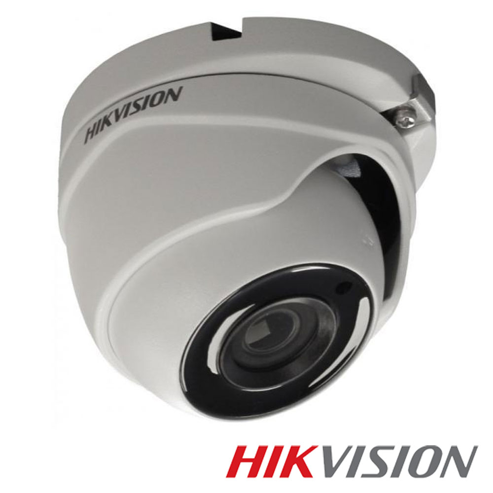 Camera 5MP Exterior, IR 40m, POC, lentila 2.8 - HikVision DS-2CE56H5T-ITME