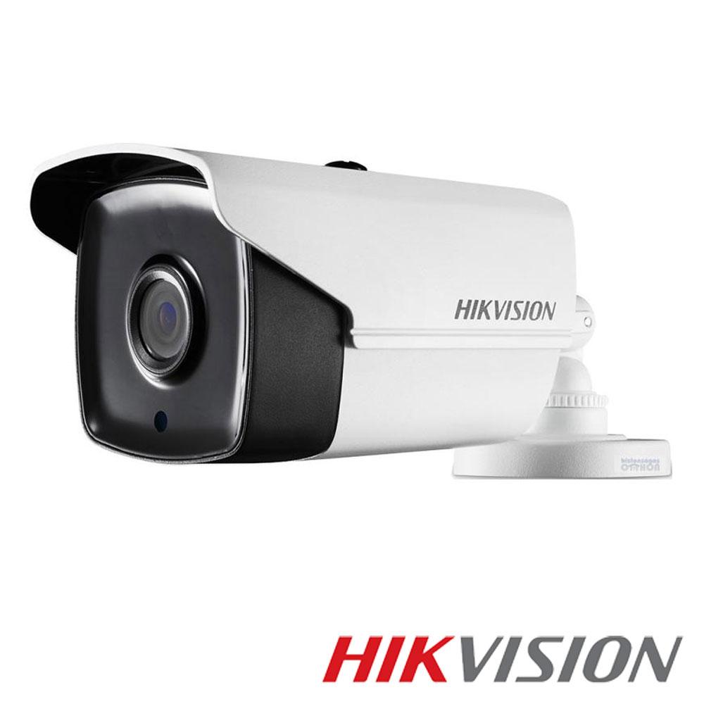 Camera 5MP Exterior, IR 80m, POC, lentila 3.6 - HikVision DS-2CE16H0T-IT5E
