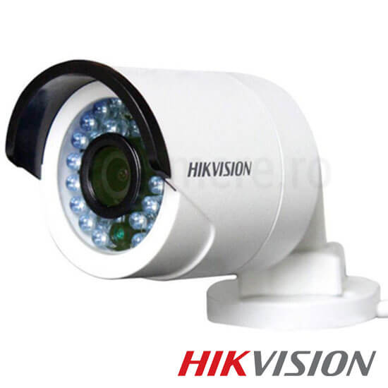 Camera 2MP Turbo HD Exterior, IR 20m, lentila 2.8 - HikVision DS-2CE16D0T-IRP