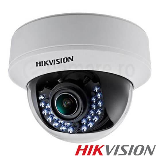 Cel mai bun pret pentru camera IP HIKVISION DS-2CE56C5T-VFIR3 cu 1 megapixeli, pentru sisteme supraveghere video